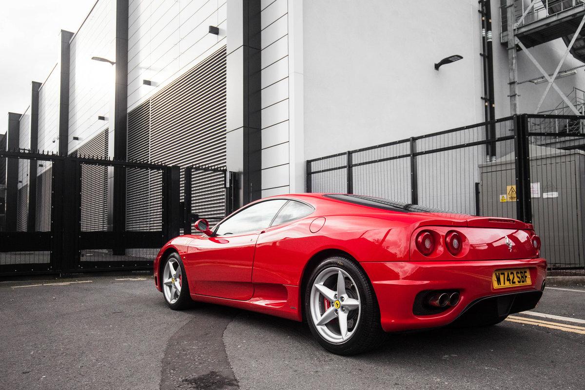 2000 Ferrari 360 Modena F1 For Sale (picture 3 of 6)