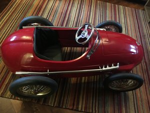 """American Retro """"Red Racer"""" Vintage Toy Pedal Car For Sale"""