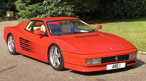 1992 FERRARI TESTAROSSA    only 2 owners and 12k miles  For Sale