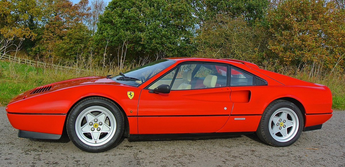 1987 FERRARI 328 GTB  Pre ABS UK example just serviced For Sale (picture 2 of 6)