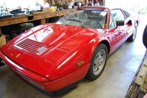 1988 Ferrari 328 GTS  Red(~)Ivory 39km needs T-belt $65k