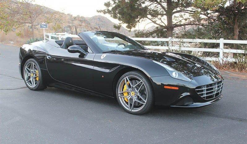 2015 Ferrari California T Spider F1 Convertible Black ...