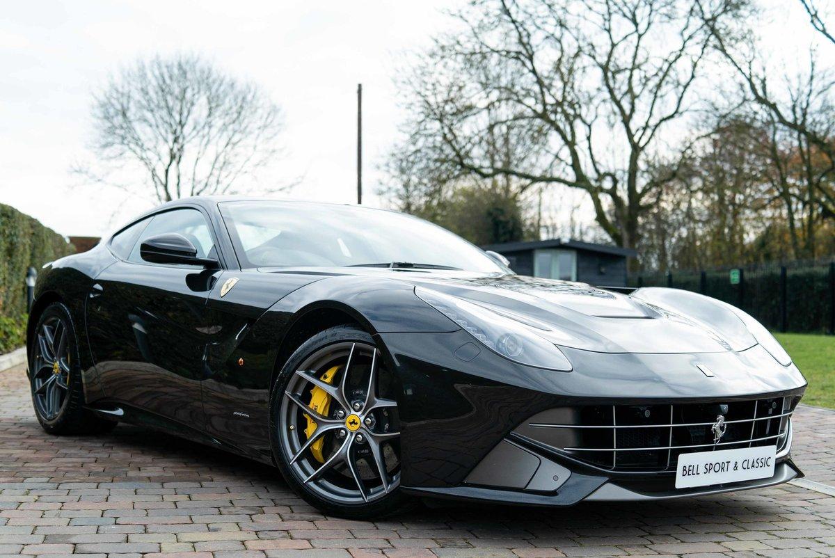 2013 Ferrari F12 Berlinetta F1....Super low miles For Sale (picture 1 of 6)