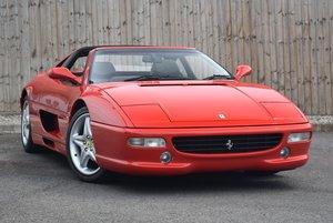 1999 (T) Ferrari F355 3.5 GTS 2dr