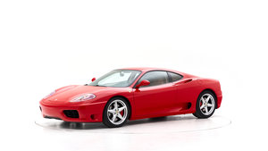 2000 FERRARI 360 MODENA for sale by auction For Sale by Auction
