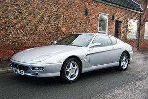 1997 Ferrari 456 GTA RHD, 6,600 miles, FSH For Sale