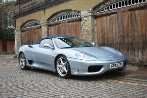 2004 Ferrari 360 Spider 04 Dec 2019 For Sale by Auction