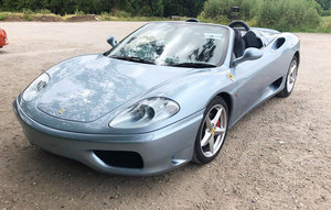 2004 Ferrari 360 Modena F1 04 Dec 2019 For Sale by Auction