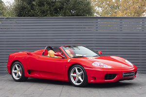 2003 Ferrari 360 Spider Manual LHD ONLY 2200 MILES SOLD