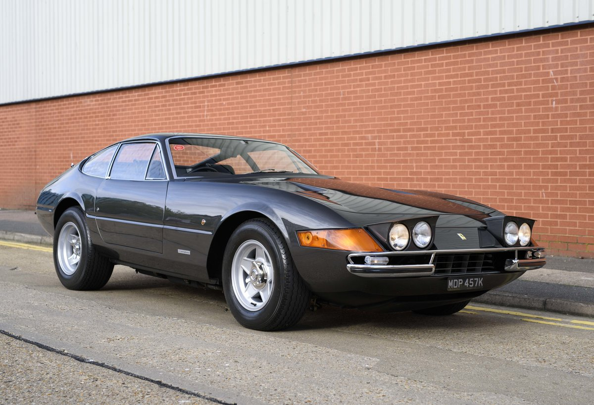 1971 Ferrari 365 GTB/4 Daytona for sale in London (RHD) For Sale (picture 2 of 24)