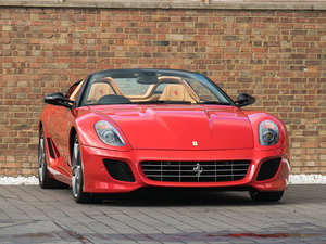 2012 Ferrari 599 SA Aperta For Sale