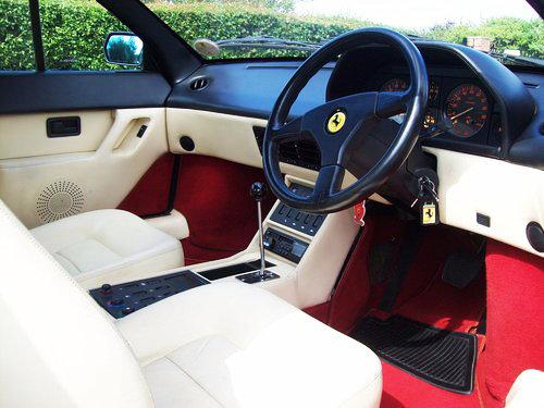 1993 Ferrari Mondial T Cabriolet 3.4cc (300BHP) For Sale (picture 5 of 6)
