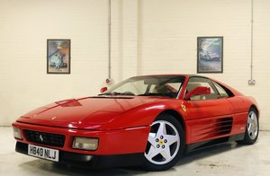 1990 FERRARI 348 TS - RIGHT HAND DRIVE - RESTORED BEST AVAILABLE SOLD