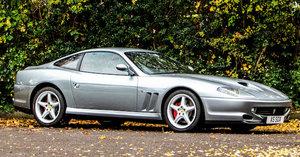 2001 Ferrari 550 Maranello Coupé For Sale by Auction