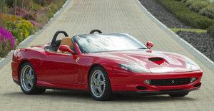 2001 Ferrari 550 Barchetta Pininfarina For Sale by Auction