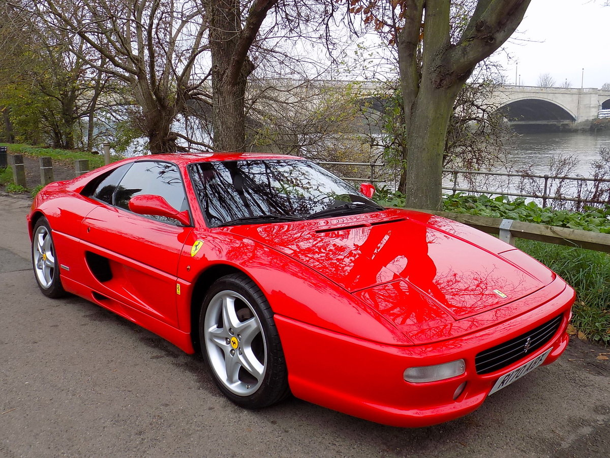 1998 FERRARI F355 GTS F1 - LHD - ONLY 22,000 MILES! For Sale (picture 1 of 6)