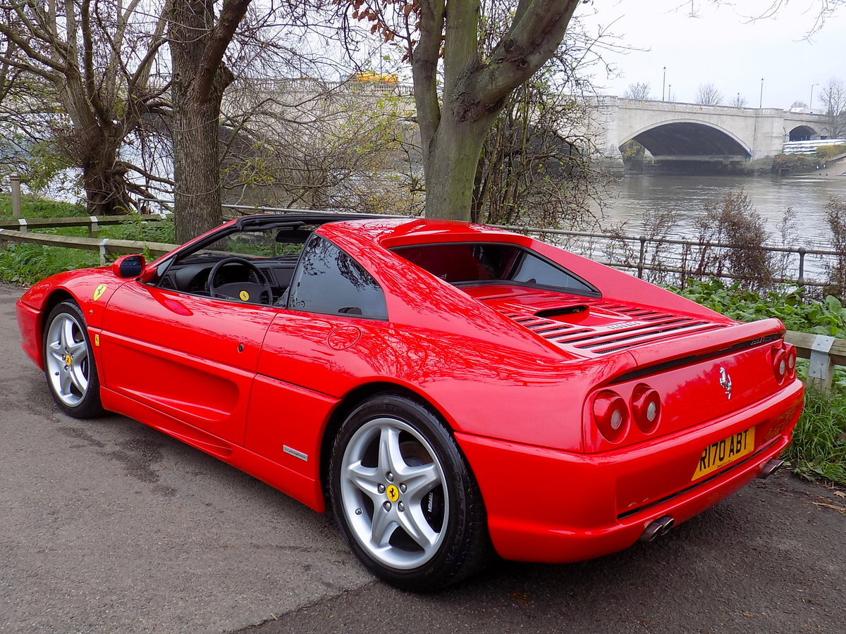 1998 FERRARI F355 GTS F1 - LHD - ONLY 22,000 MILES! For Sale (picture 2 of 6)