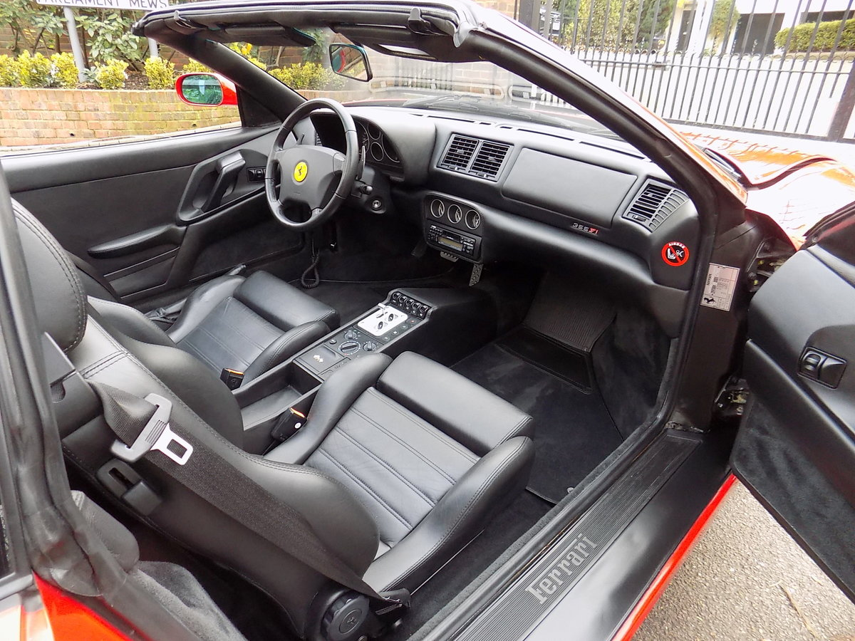 1998 FERRARI F355 GTS F1 - LHD - ONLY 22,000 MILES! For Sale (picture 3 of 6)