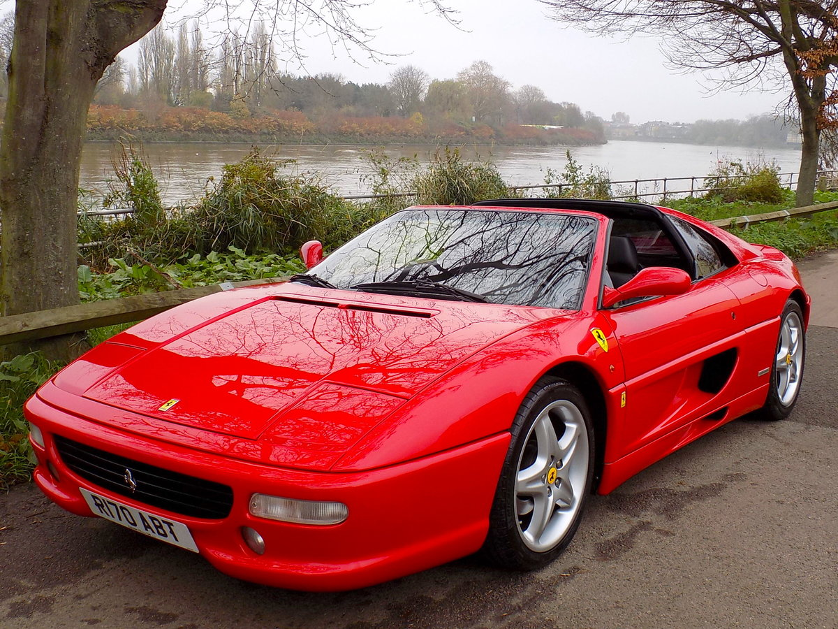 1998 FERRARI F355 GTS F1 - LHD - ONLY 22,000 MILES! For Sale (picture 6 of 6)