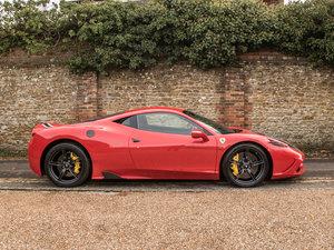 2016 Ferrari    458 Speciale