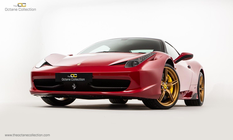 2014 FERRARI 458 ITALIA DCT //  8K MILES // MUGELLO RED // FFSH  For Sale (picture 3 of 23)