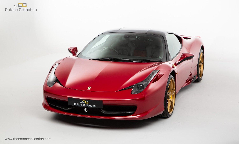 2014 FERRARI 458 ITALIA DCT //  8K MILES // MUGELLO RED // FFSH  For Sale (picture 4 of 23)