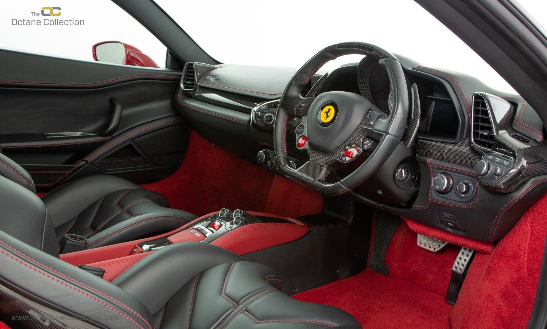 2014 FERRARI 458 ITALIA DCT //  8K MILES // MUGELLO RED // FFSH  For Sale (picture 13 of 23)