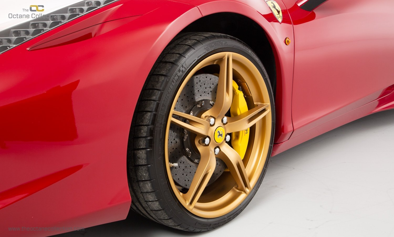 2014 FERRARI 458 ITALIA DCT //  8K MILES // MUGELLO RED // FFSH  For Sale (picture 22 of 23)