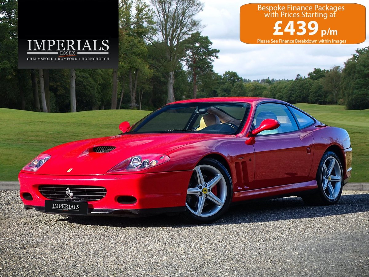 2002 Ferrari  575  M COUPE WITH HANDLING PACK LHD SPANISH REGISTE For Sale (picture 1 of 20)