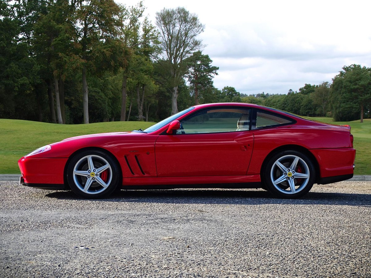 2002 Ferrari  575  M COUPE WITH HANDLING PACK LHD SPANISH REGISTE For Sale (picture 2 of 20)