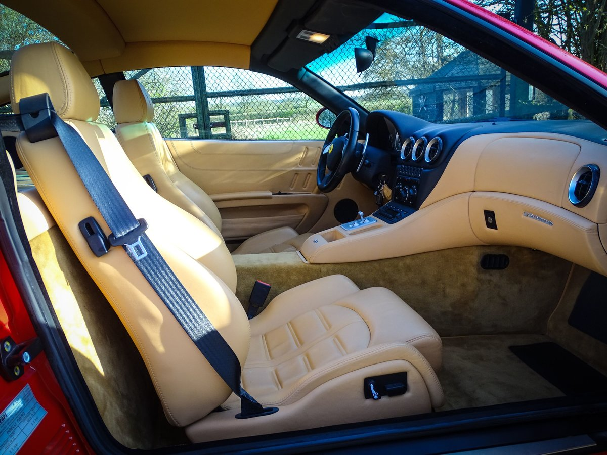 2002 Ferrari  575  M COUPE WITH HANDLING PACK LHD SPANISH REGISTE For Sale (picture 3 of 20)