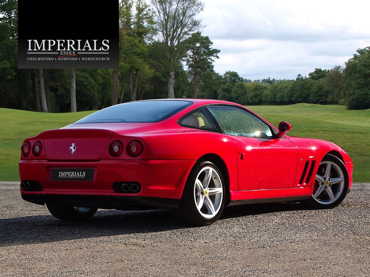 2002 Ferrari  575  M COUPE WITH HANDLING PACK LHD SPANISH REGISTE For Sale (picture 4 of 20)