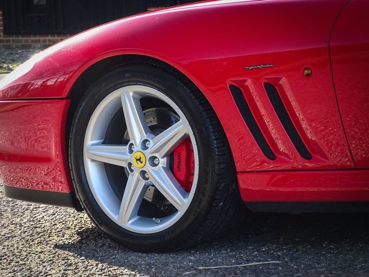 2002 Ferrari  575  M COUPE WITH HANDLING PACK LHD SPANISH REGISTE For Sale (picture 5 of 20)
