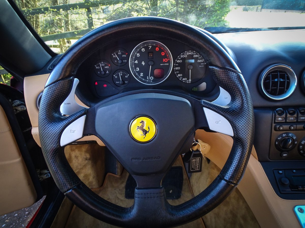 2002 Ferrari  575  M COUPE WITH HANDLING PACK LHD SPANISH REGISTE For Sale (picture 7 of 20)