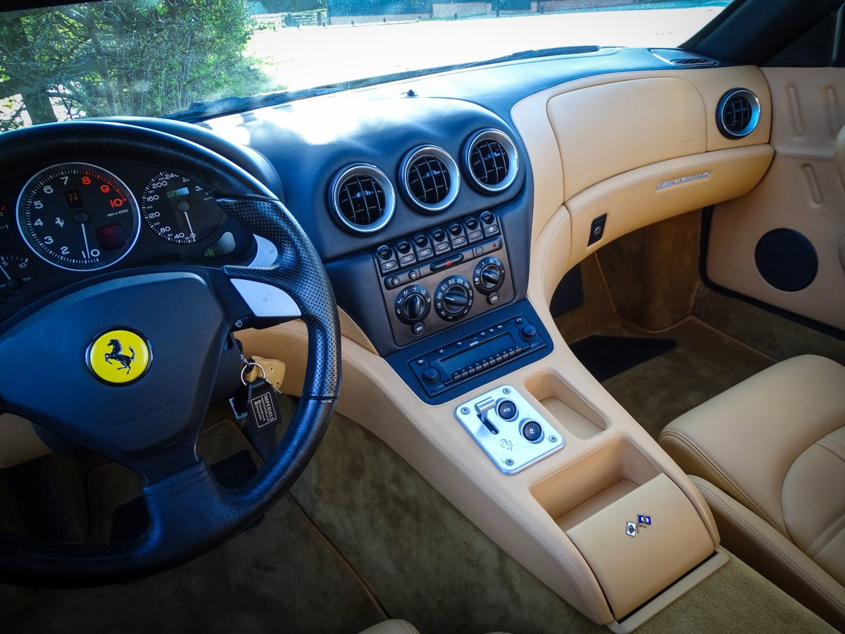 2002 Ferrari  575  M COUPE WITH HANDLING PACK LHD SPANISH REGISTE For Sale (picture 12 of 20)