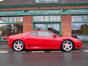 2000 Ferrari 360 Coupe Manual LHD  For Sale