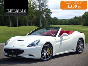 2009 Ferrari  CALIFORNIA  4.3 2 PLUS 2 CABRIOLET AUTO  74,948 For Sale