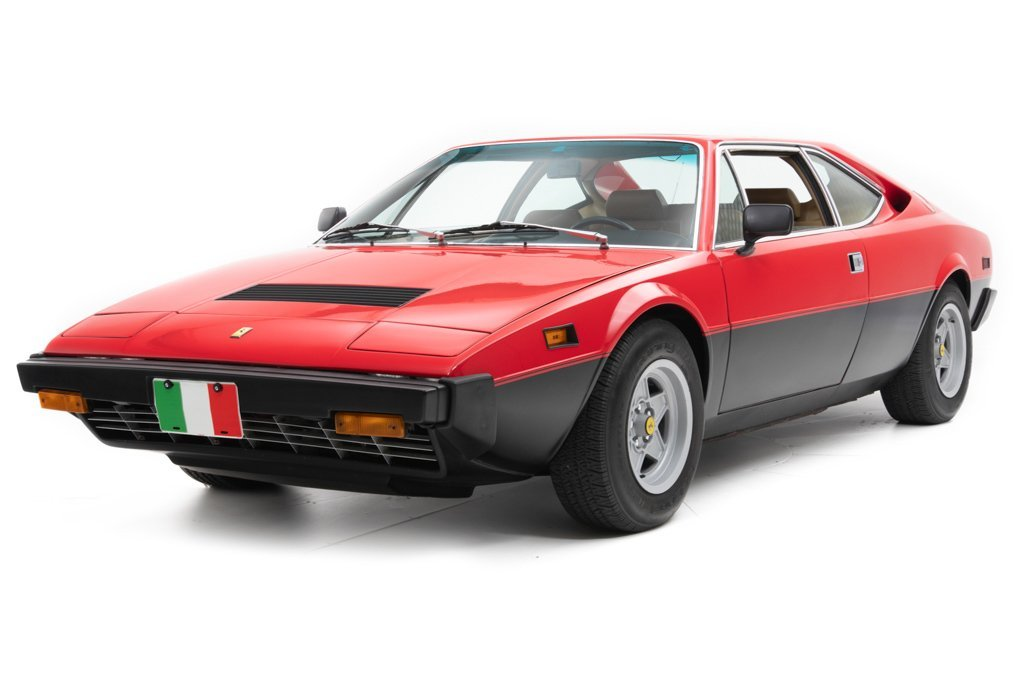 1978 Ferrari 308 GT4  Sunroof AC  5 speed Manual Red $64.5k For Sale (picture 1 of 6)