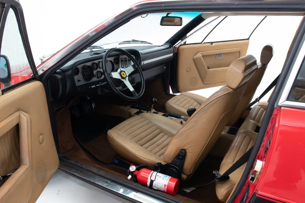 1978 Ferrari 308 GT4  Sunroof AC  5 speed Manual Red $64.5k For Sale (picture 3 of 6)