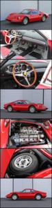 1968 Ferrari Dino 206GT All Alloy Body Rare 1 of 151  $595k