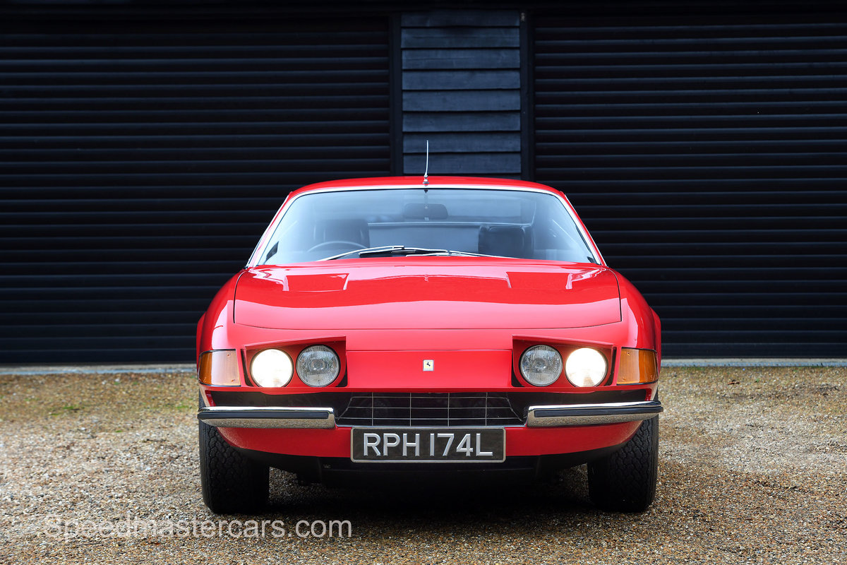 1973 Ferrari 365 Daytona 365 GTB/4 RHD Classiche Certified For Sale (picture 1 of 13)