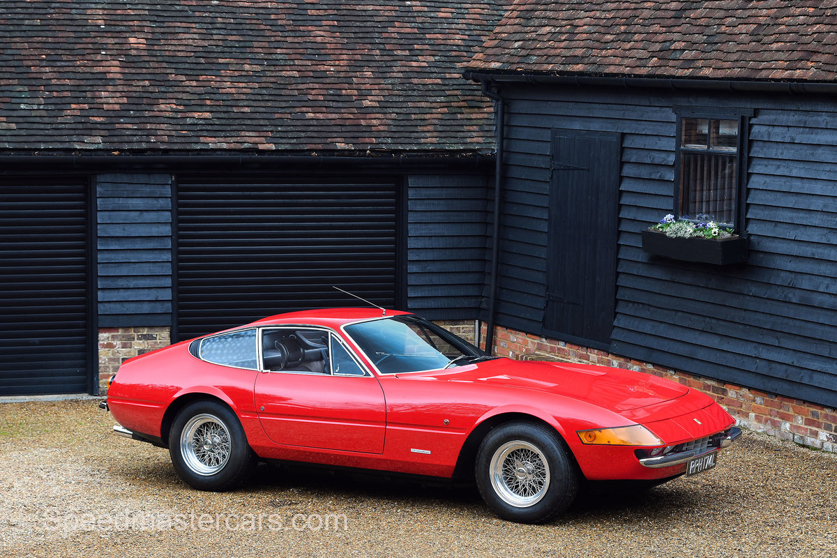 1973 Ferrari 365 Daytona 365 GTB/4 RHD Classiche Certified For Sale (picture 7 of 13)