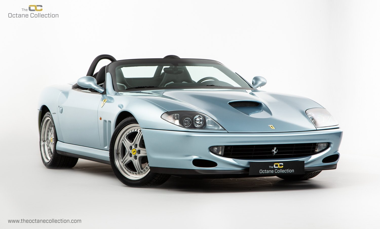 2001 FERRARI 550 BARCHETTA // ONLY 557 MILES // 1 OF 448  For Sale (picture 1 of 24)