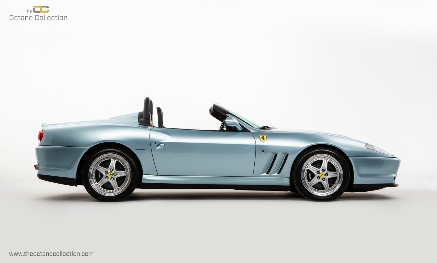 2001 FERRARI 550 BARCHETTA // ONLY 557 MILES // 1 OF 448  For Sale (picture 8 of 24)