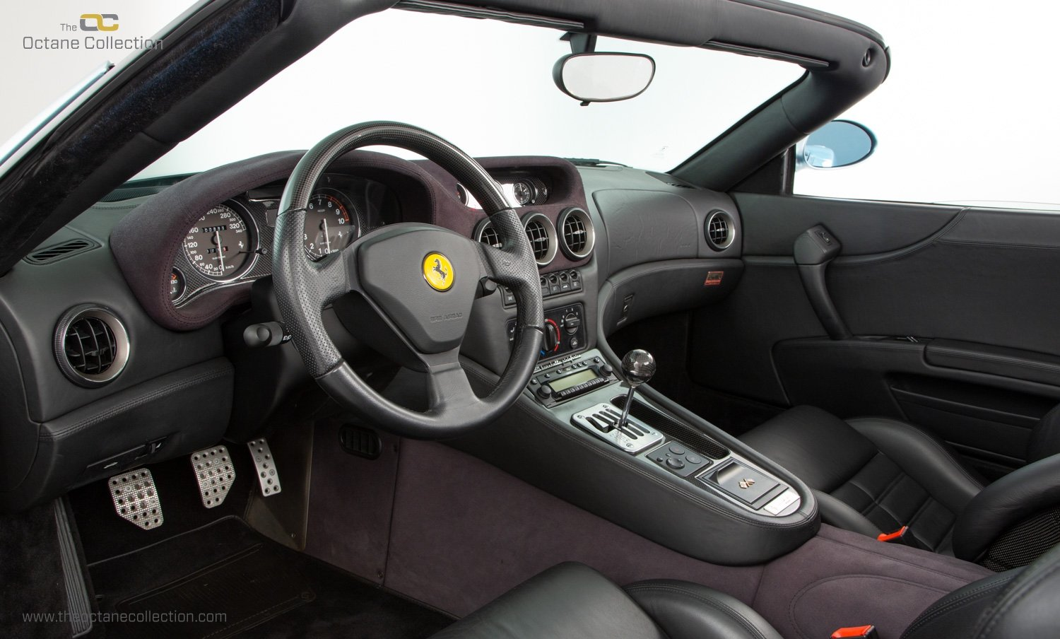 2001 FERRARI 550 BARCHETTA // ONLY 557 MILES // 1 OF 448  For Sale (picture 14 of 24)
