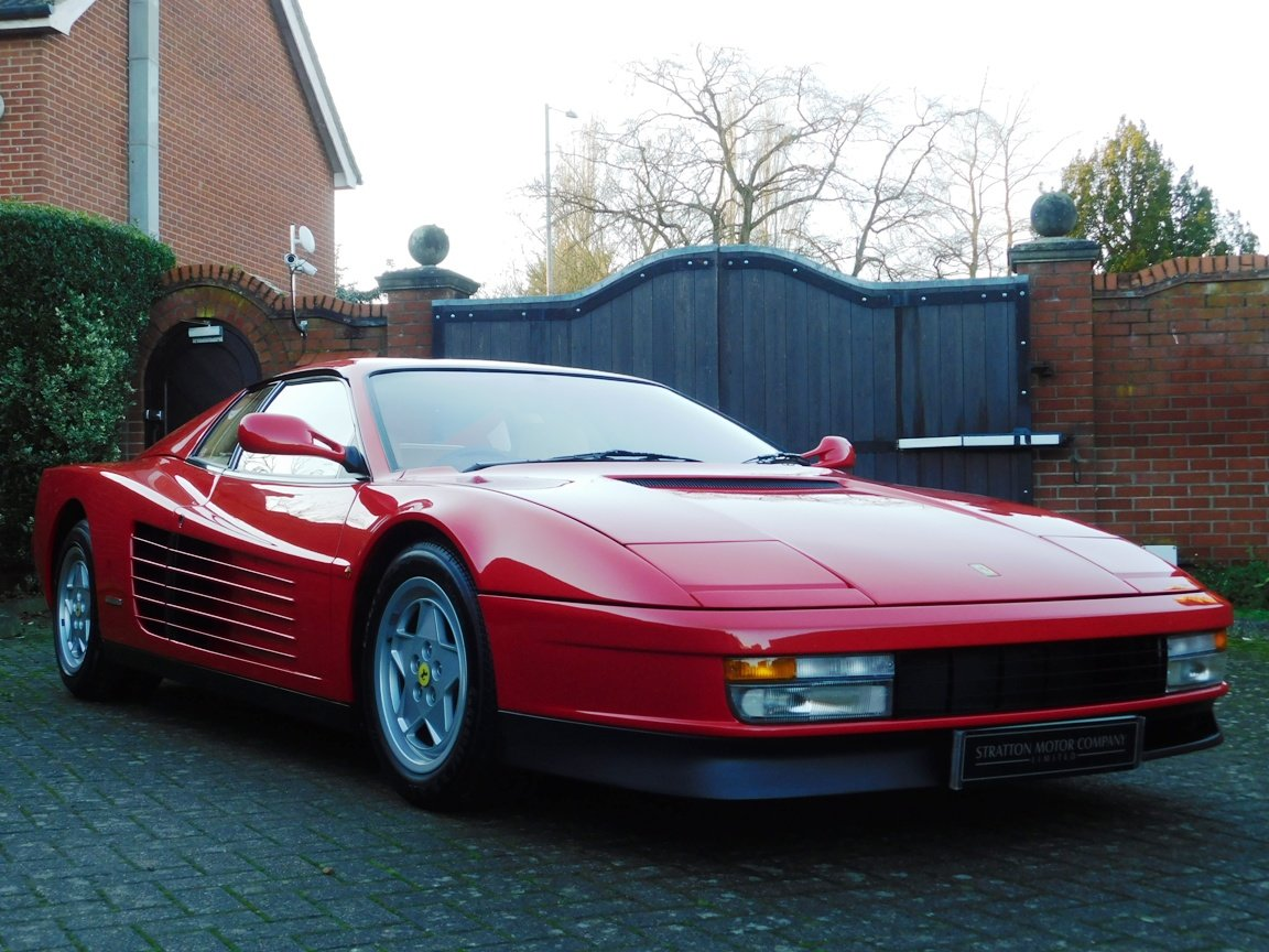 1991 Ferrari Testarossa (RHD) ONLY 3619 Miles From New For Sale (picture 1 of 20)