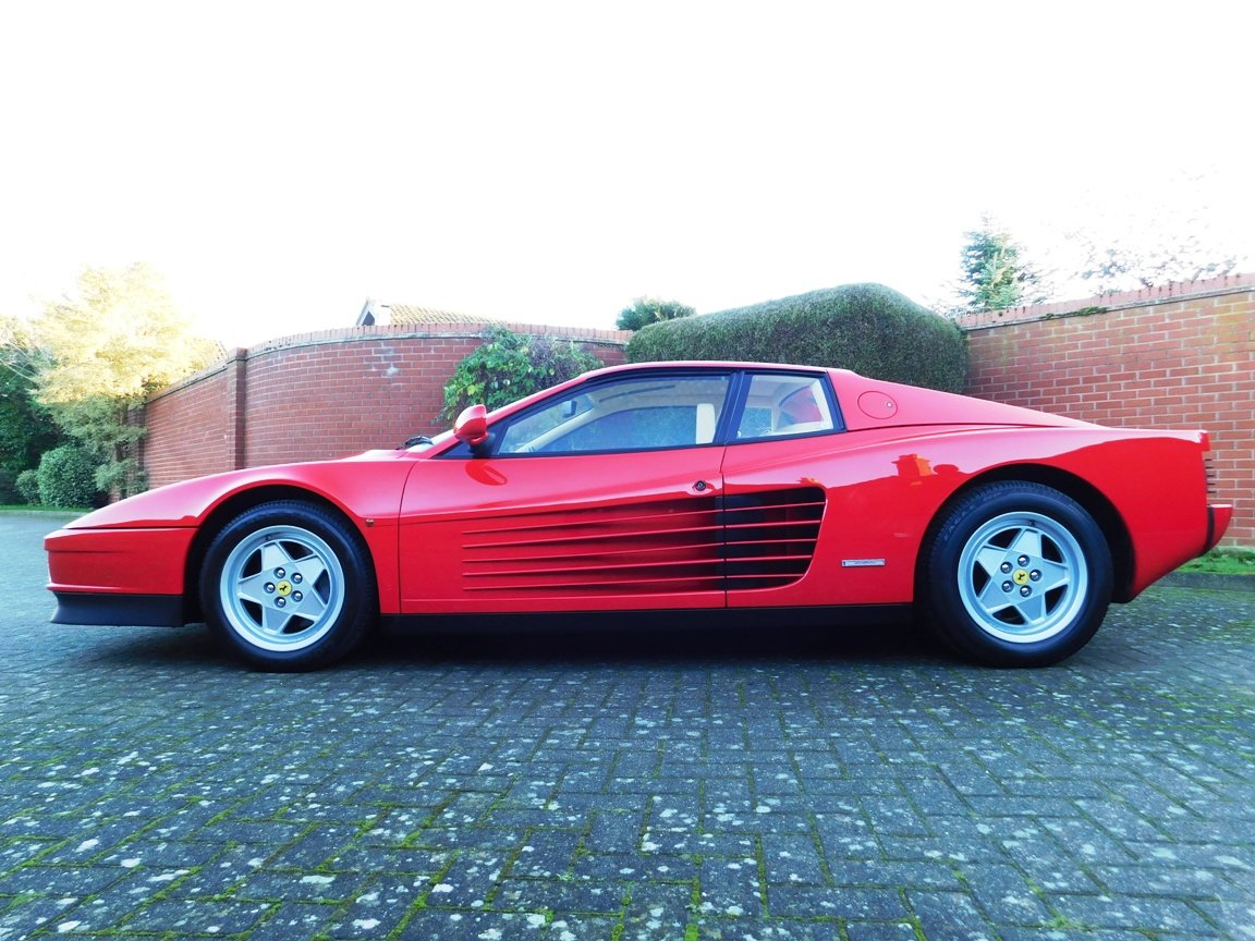 1991 Ferrari Testarossa (RHD) ONLY 3619 Miles From New For Sale (picture 3 of 20)