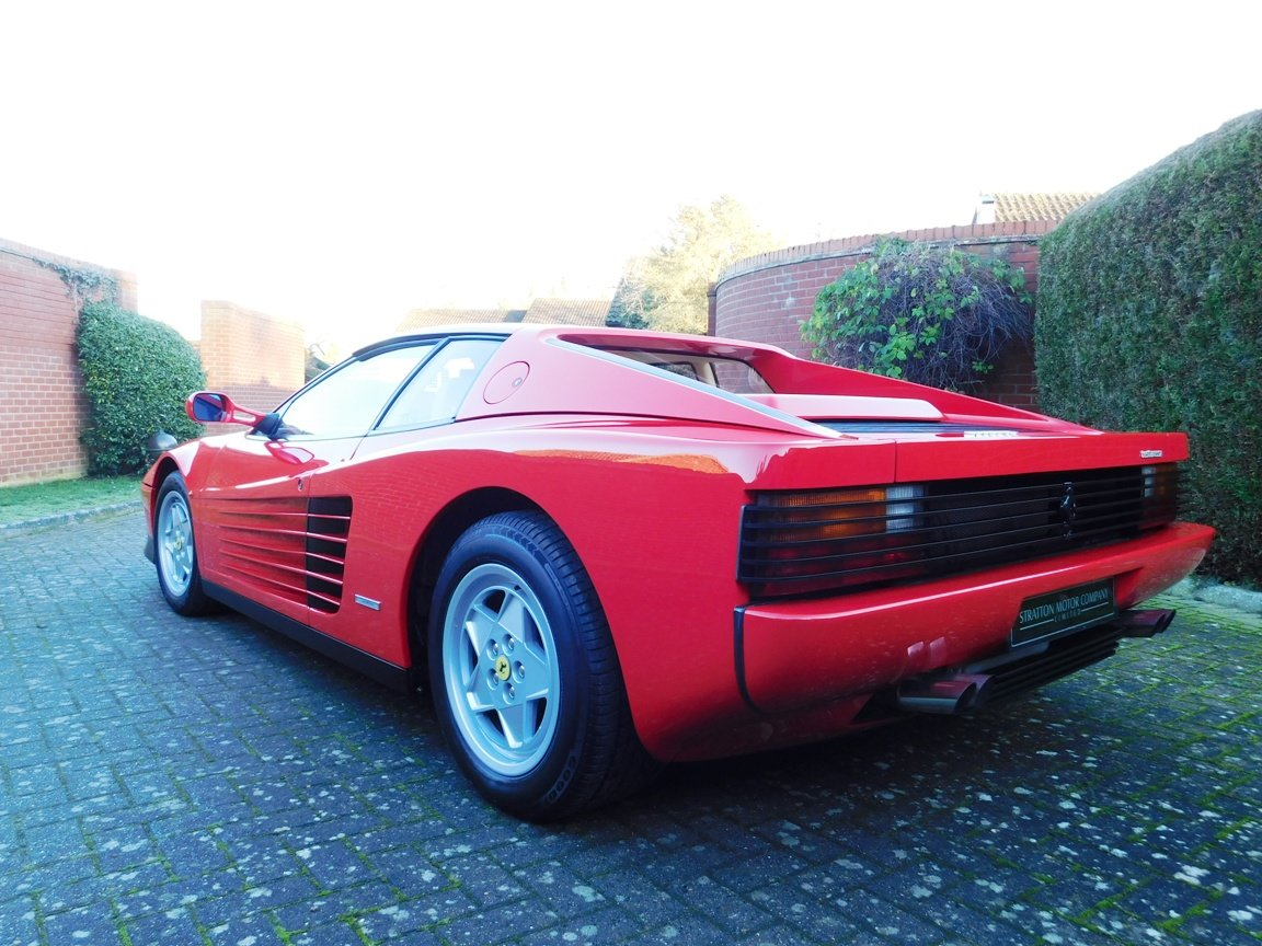 1991 Ferrari Testarossa (RHD) ONLY 3619 Miles From New For Sale (picture 5 of 20)
