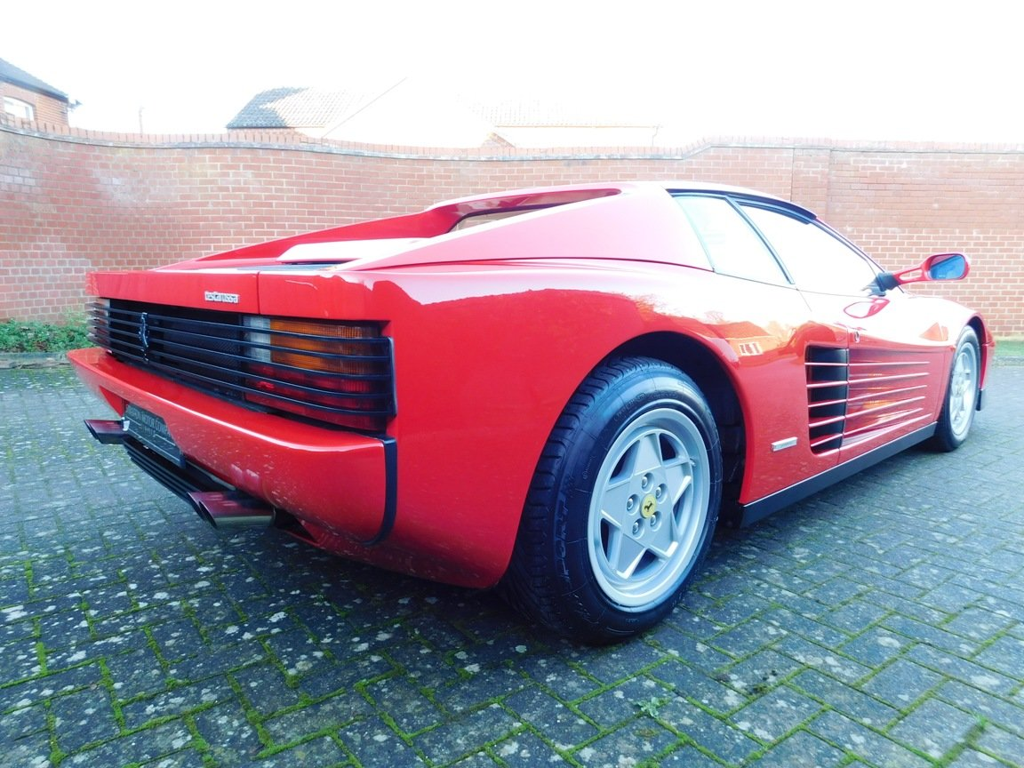 1991 Ferrari Testarossa (RHD) ONLY 3619 Miles From New For Sale (picture 6 of 20)