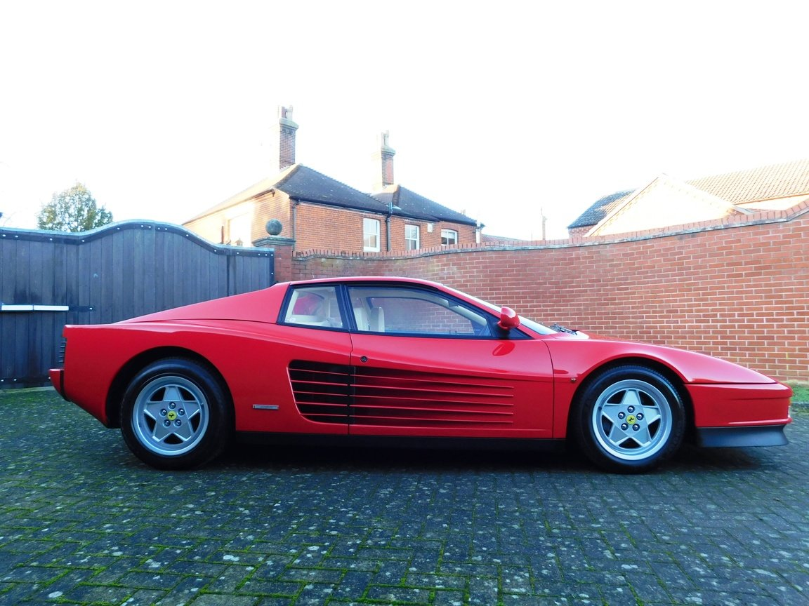 1991 Ferrari Testarossa (RHD) ONLY 3619 Miles From New For Sale (picture 7 of 20)